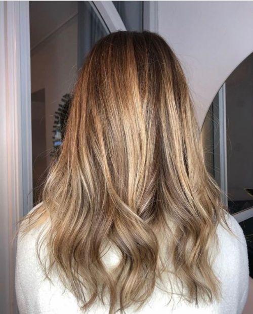 ombre pris hos frisör